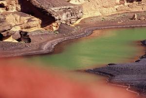Farbenspiel am Kratersee El Golfo