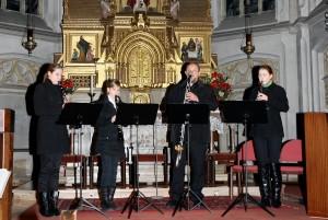 Klarinettenquartett mit Fritz Zauner
