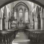012 Kircheninnenraum während des 2. Weltkrieges
