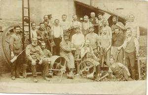 8k-E5 Enderlin Arbeiter um 1910