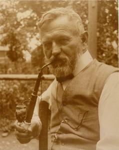 A Oberlehrer August Scheinert