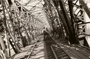 E13 Brückeneinsturz