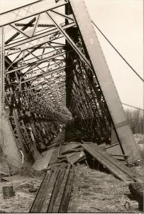 E15 Brückeneinsturz