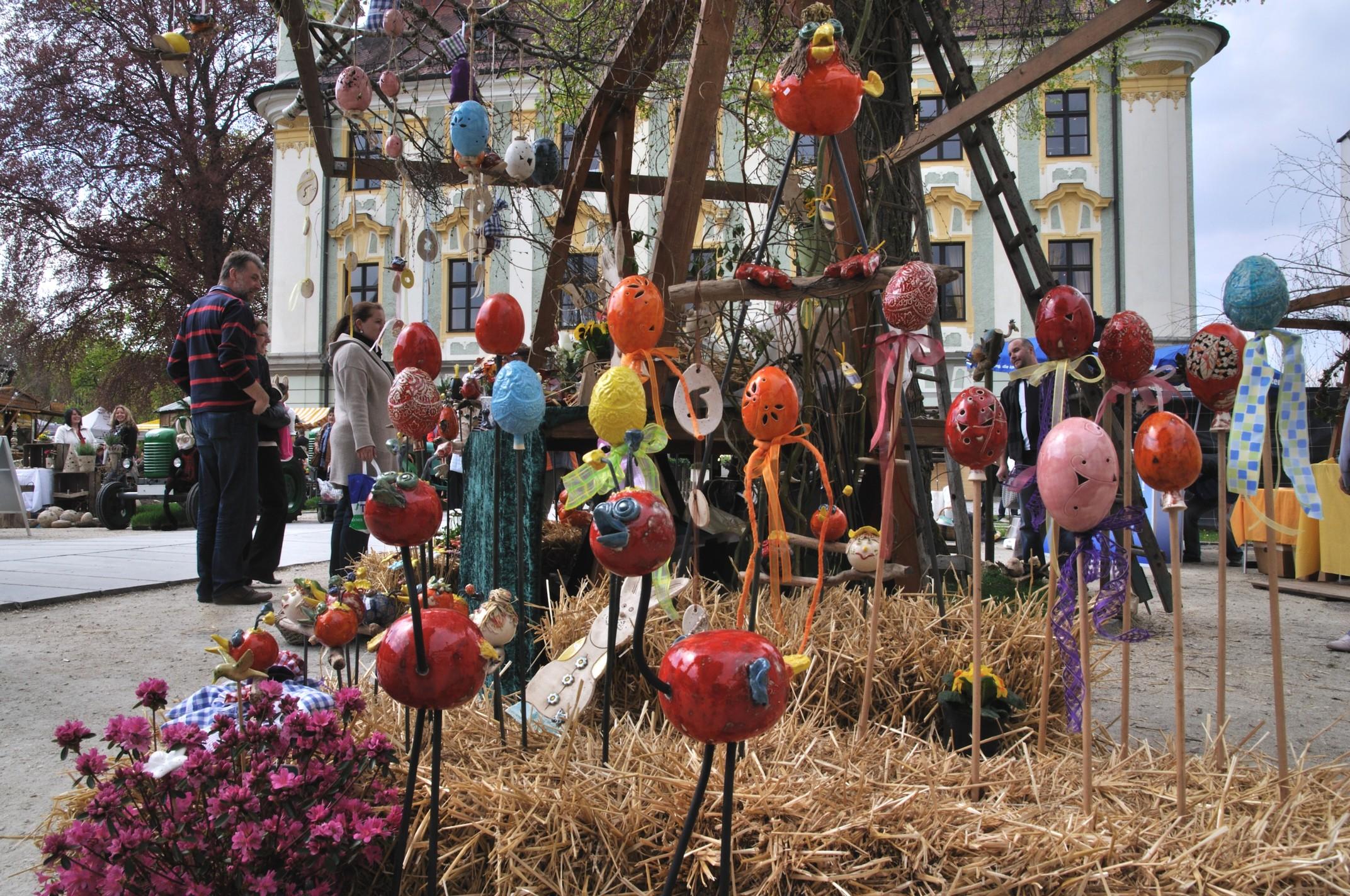Ostermarkt Kulturforum Traun